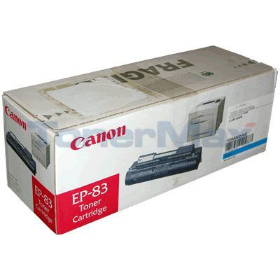 CANON CLBP-400 EP-83 TONER CARTRIDGE CYAN